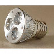 LED-lampa Growspot 4W E27-sockel röd/vit