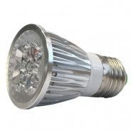 LED-lampa Growspot 7W E27-sockel röd/vit