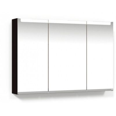 Macro Design Soul Spegelskåp 1000 Svart Infälld LED