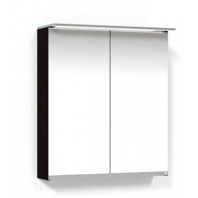 Macro Design Soul Spegelskåp 600 Svart Belysningsram