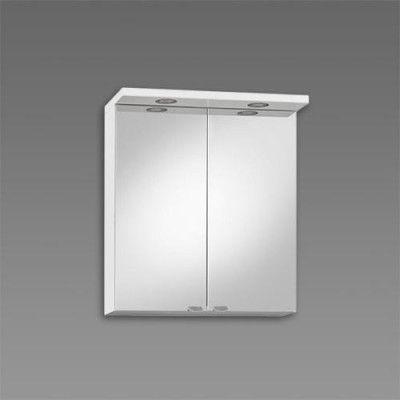 Spegelskåp Källa 600 mm, Vit högblank