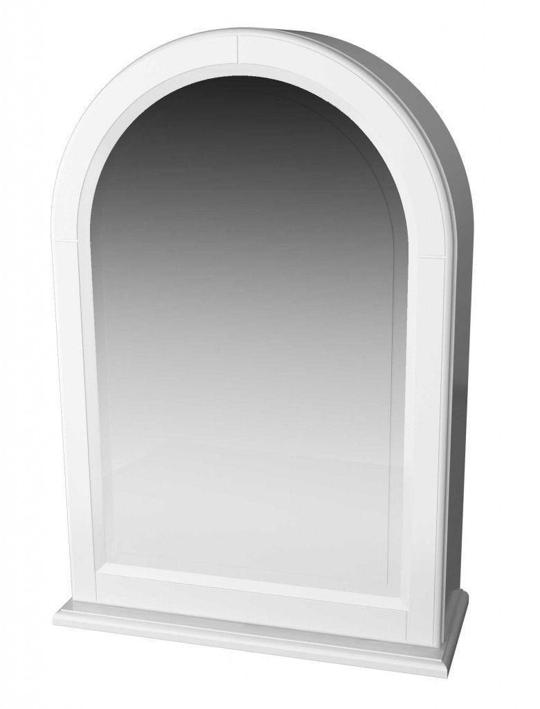 Spegelskåp Miller Traditional Vit Högerhängd dörr - Byggerom