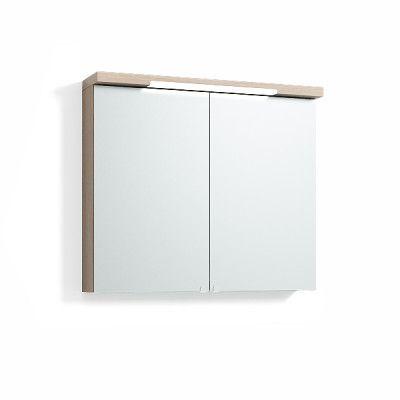 Spegelskåp Svedbergs Top-Line Ljus Ek