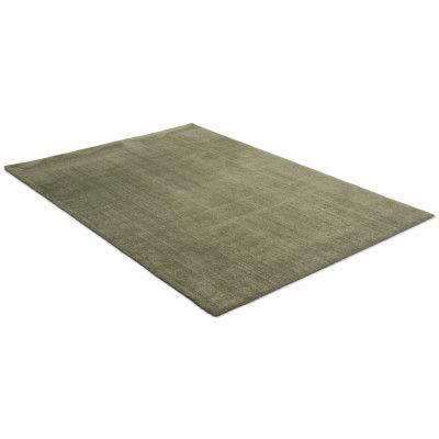 Feel olivgrön - maskinvävd matta