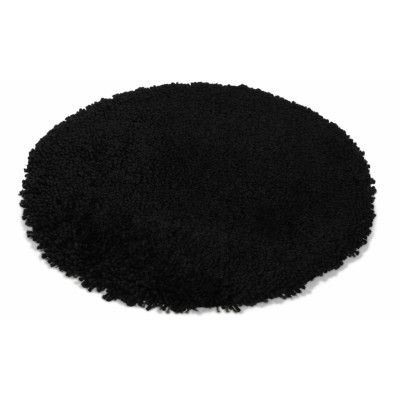 Highland svart - badrumsmatta
