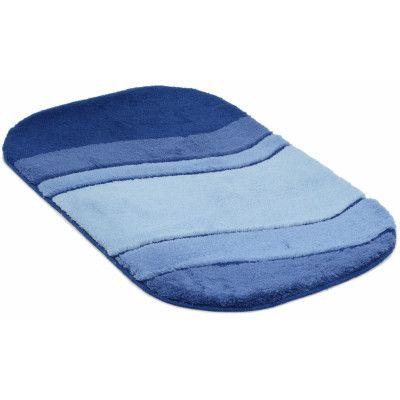 Siesta blå - badrumsmatta