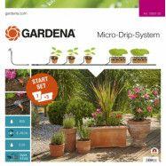 Droppslang Gardena Startpaket för krukor