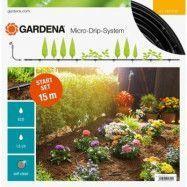 Gardena Bevattningsstartset 15 m Plantrader Micro-Drip-System S