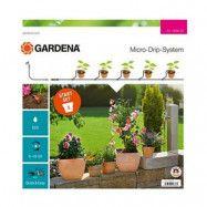 Gardena Bevattningsstartset 5 Krukor Micro-Drip-System S