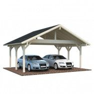Carport Robert Shingel, 20,6 m², Obehandlad