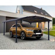 GoP Carport Arcadia Grey 15 kvm