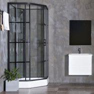 Duschkabin Bathlife Betrakta 90x90 Elegant A/W Klarglas