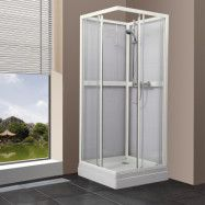 Duschkabin Bathlife Ideal 90x90 Rak