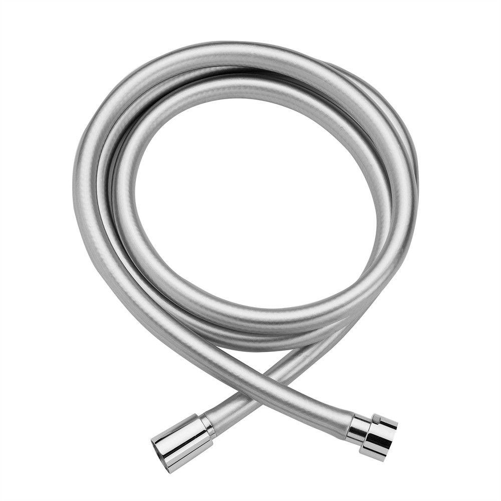 Duschslang Tapwell ZFLO 031 PVC Silvermetall - Byggerom : duschslang : Inredning