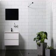 Duschvägg Bathlife Mångsidig Rak