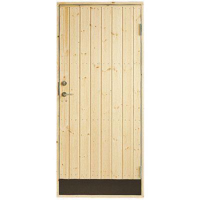 Dörr 10° panel Jabo Förrådsdörr 9 x 20, Höger