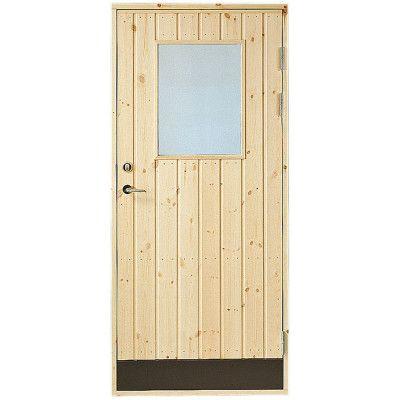 Dörr 18° panel Höger Jabo Förrådsdörr 8x20