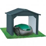 Garage / Skydd till robotgräsklippare - Stängd bak