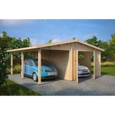 Garage & carport Magda A - 31,5 m²