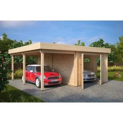 Garage & carport Magda B - 32 m²