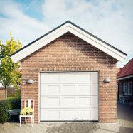 Garageport Advant Complete - Spegel 2400 x 2000, Låskit förberett för ASSA