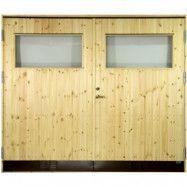 Garageport 10 °C - Med klarglas