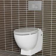 Vägghängd Toalettstol Hafa Relax U