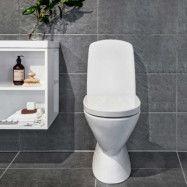 Toalettstol Noro Well No-Rim Exklusive Lock