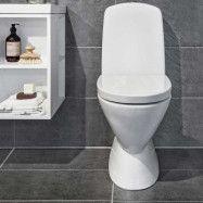 Toalettstol Noro Well No-Rim Inklusive Lock