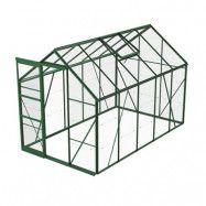 Växthus Bruka 6,2 m², Grön, Glas