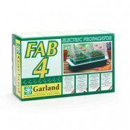 Garland Drivhus Fab 4 Med Undervärme Elektrisk