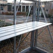 Till växthus och orangeri Oas Hylla 53 cm, Aluminium