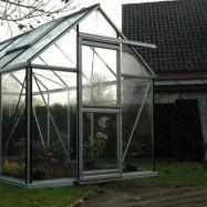 Växthus Oas Junior 7,3 m², Hobby Aluminium