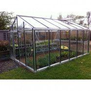 Växthus Oas Master 14,2 m², Hobby Aluminium