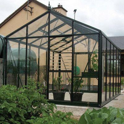 Växthus Oas Master 14,2 m², Victorian Svart