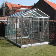 Växthus Oas Master 7,3 m², Hobby Aluminium