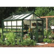 VäxthusOas Master 7,3 m², Victorian Mörkgrön