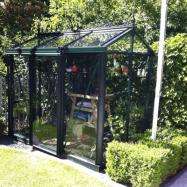 Växthus Oas Mini 3,8 m² Victorian Mörkgrön