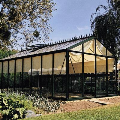 Växthus Oas Senior 18,8 m², Victorian Mörkgrön