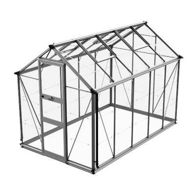 Växthus Odla 4,9 - 6,0 m² 6,0 m², Aluminium, Glas