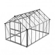 Växthus Odla 8,2–9,8 m² 9,8 m², Aluminium, Glas