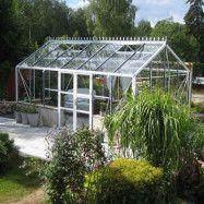 Växthus Spira Mur 15,0 m², Vit