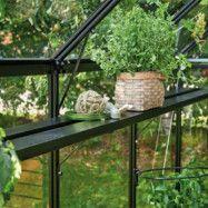 Till växthus Idyll Mur 18,8 m² Lamellhylla