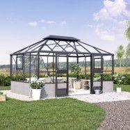 Växthus Idyll Mur 13 m²