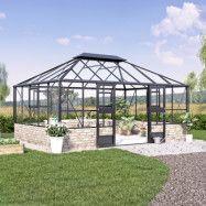 Växthus Juliana Grand Oase Mur 18,8 m² 18,8 m²