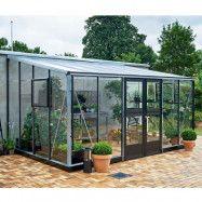 Växthus Juliana Veranda 12,9 m², Aluminium, Ja