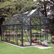 Växthus Magnum 8,3 m² - Svart