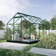 Växthus Neptunus - Grönt 6,2 m²