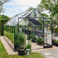 Växthus Qube + 13 m² 13 m²