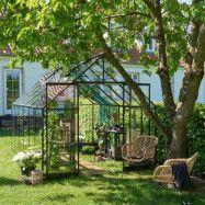 Växthus Qube + 9,9 m² 9,9 m²